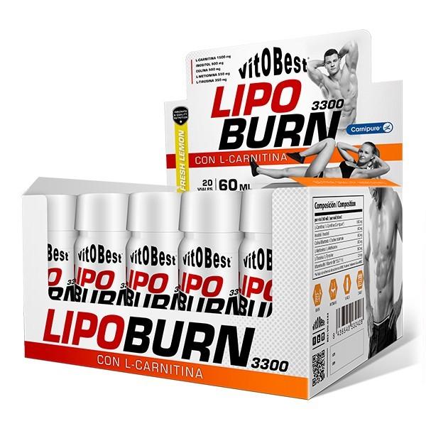 LipoBurn 3300 20 Viales