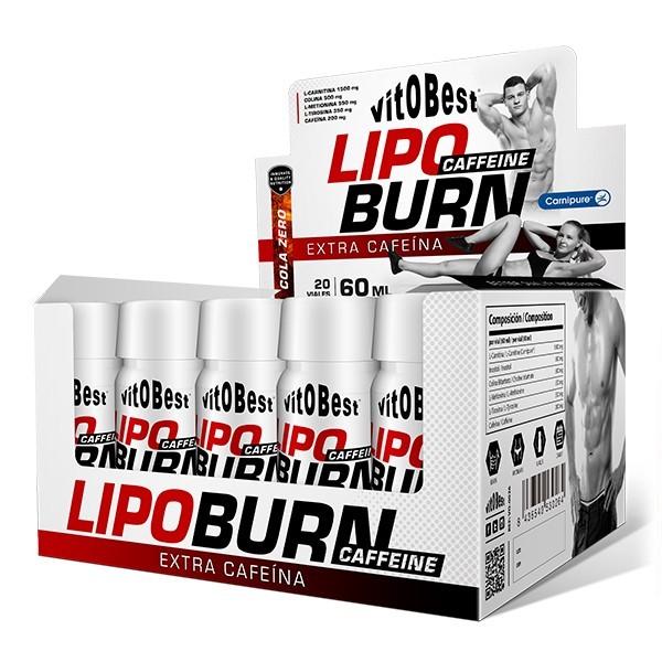 LipoBurn Caffeine 20 Viales