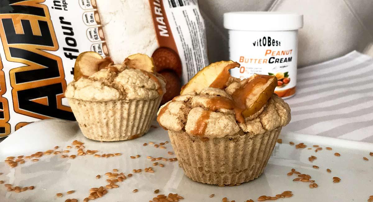 Receta Muffins con manzana Vitobest®.