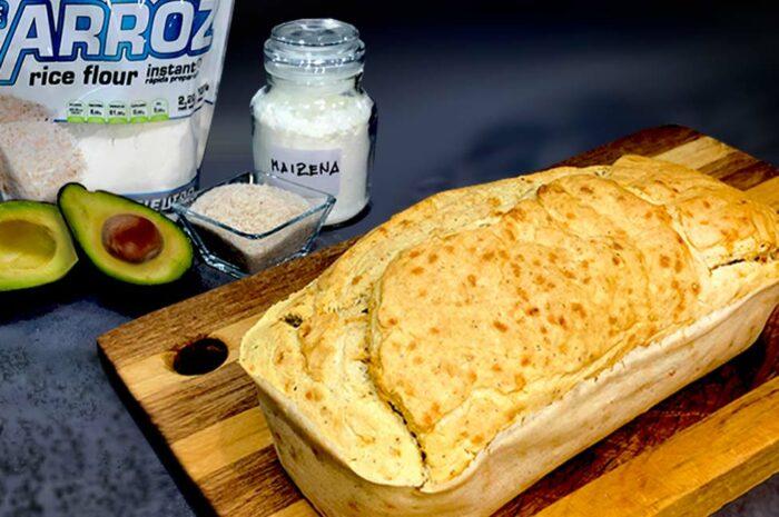 Receta Pan de molde de arroz, aguacate y amapola Vitobest®.