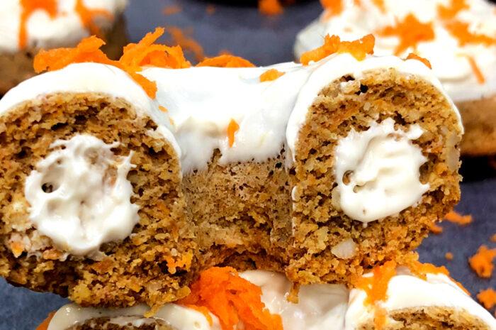 Receta Donut Carrot Cake Vitobest®.