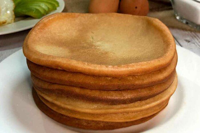 Receta Pancake de arroz Vitobest®.