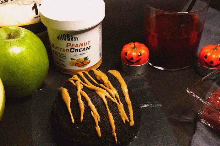Receta Coulant de Peanut Butter & Jelly Vitobest®.