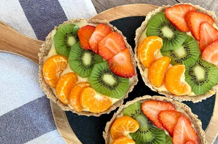 Receta Tartaleta Fit de frutas Vitobest®.